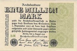ALEMANIA  1 MILLION MARK  09-08-1923  BUEN ESTADO - Unclassified