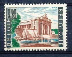 D - [150137]SUP//**/Mnh-[1239] Belgique 1962, 1000 Ans De La Ville D'Ieper (Ypres), Porte De Menin Avec Les Noms Des 54. - Militaria