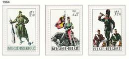 D - [150251]SUP//**/Mnh-N° 1293/95, ?uvres Patriotiques, Militaria, Costumes Militaires, SNC - Unused Stamps