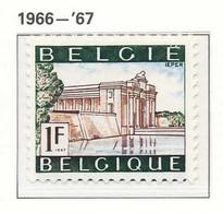 D - [150520]SUP//**/Mnh-N° 1424, Papier Blanc, Tourisme, Ypres (Ieper), SNC - Unused Stamps