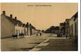 36 - LEVROUX - Route De Chateauroux, Carte Toilée - 1152 - Andere Gemeenten