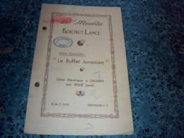 Vieux Papier Publicité Catalogue Les Meubles Boichut - Lance Le Buffet Jurassien Usine à Choisey Par Dolè Jura Annèe?? - Pubblicitari