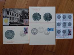 REPUBBLICA - Marcofilia - Mostra Filatelica E Numismatica - Fano 1965-67 - 4 Cartoline + Spese Postali 3 - F.D.C.
