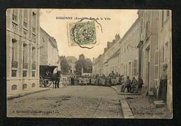 02 - SISSONNE - Rue De La Ville - 1905 - Sissonne