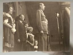 PHOTO DU GENERAL DE GAULLE Prise Par Le Correspondant De Guerre AUCLAIRE - War, Military