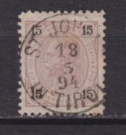 AUSTRIA  -  1890 15k Used As Scan - Usati