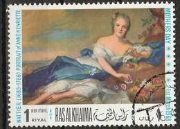 Ras Al-Khaimah 1968 - Anne-Henriette De France; By Jean-Marc Nattier (1685-1766) - Giorno Della Mamma