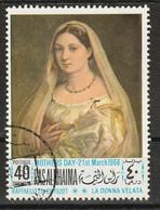 Ras Al-Khaimah 1968 - La Donna Velata; By Raffaello (1483-1520) - Giorno Della Mamma