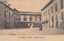 Campania - Benevento - S. Agata Dei Goti - Piazza Umberto I° - F. Piccolo - Viagg - Bella Animata - Altre Città