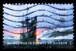 Etats-Unis / United States (Scott No.5524 - Mayflower) (o) - Used Stamps