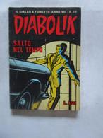 #  DIABOLIK N 26 ANNO VIII° (OTTAVO / 8° ) 1969 - SALTO NEL TEMPO - Diabolik