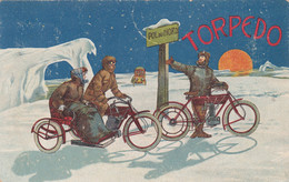 Pubblicitarie - TORPEDO - Pol Du Nord - F. Piccolo - Viagg - Molto Bella - Advertising