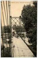 SAINT-AIGNAN - Pont Des Trés-Cassés - Train - Camion - Carte Peu Courante  - Voir Scan - Autres Communes