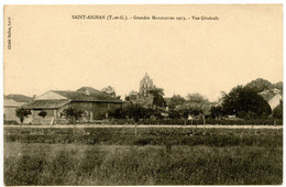 SAINT-AIGNAN - Grandes Manoeuvres 1913 - Vue Générale   - Voir Scan - Autres Communes