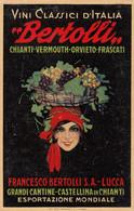 Pubblicitarie - Vini Bertolli  - Lucca - Castellina In Chianti  - F. Piccolo - Nuova - Molto Bella - Advertising
