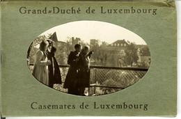 """Carnet Du Grand Duché De Luxembourg """" Casemates De Luxembourg """" 8 Pc - Luxemburg - Stad"""