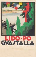 Pubblicitarie - LIDO PO - Guastalla  - F. Piccolo - Viagg - Molto Bella - Firmata Bisi - Futurismo - Pubblicitari