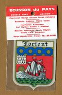 LORIENT  (56)  : ECUSSON BLASON ADHESIF - Stickers