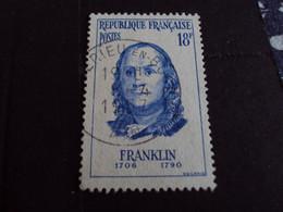 "1950-59 - Oblitéré N°   1085   ""     Franklin   ""    ""    Ambérieu En Bugey  ""  - Net   1.50 - Usados"