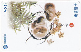 CHINA H-419 Prepaid ChinaTelecom - Painting, Animal, Rabbit - Used - Cina