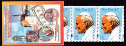 POLAND, POCZTA POLSKA 4 STAMPS BOOKLET - 2005 CZESTOCHOWA - POPE JOHN PAUL II MINT NOT HINGED SOUVENIR R - Papes