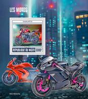 NIGER 2019 - Motorcycles: Yamaha, Kawasaki - YT BF1053, CV=20 € - Motorbikes