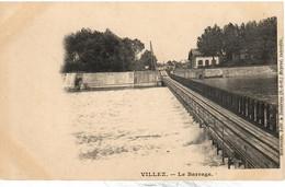 PENICHE     VILLEZ  LE BARRAGE - Houseboats