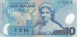BILLETE DE NUEVA ZELANDA DE 10 DOLLARS DEL AÑO 2007 EN CALIDAD EBC (XF) (BIRD-PAJARO) (BANKNOTE) - New Zealand