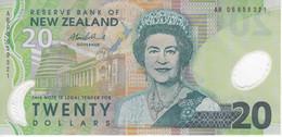 BILLETE DE NUEVA ZELANDA DE 20 DOLLARS DEL AÑO 2006 EN CALIDAD EBC (XF) (BIRD-PAJARO) (BANKNOTE) - New Zealand