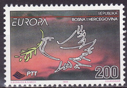 EUROPA  BOSNIE Yv 162 MNH Neufs** - - 1995
