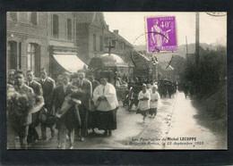 CPA - BRUAY EN ARTOIS - Les Funérailles De Michel LECUPPE Le 22 Décembre 1923, Très Animé - Altri Comuni