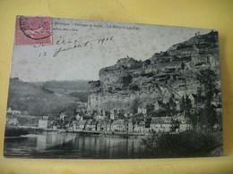 24 3835 CPA 1906 - AUTRE VUE LEGENDE DIFFERENTE N° 7 - 24 DORDOGNE. ENVIRONS DE SARLAT. LA ROQUE GAGEAC (EN SARLADAIS). - Otros Municipios
