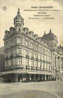 Belgium, ANTWERPEN ANVERS, Hotel Wagner (1910s) Postcard - Antwerpen