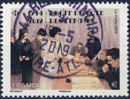 5315 DROITS Des FEMMES OBLITERE ANNEE 2019 CACHET ROND CENTRE - Used Stamps