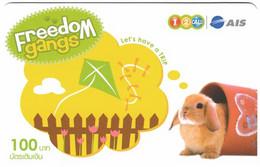 THAILAND G-418 Prepaid 1-2-Call - Animal, Rabbit - Used - Tailandia