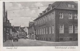 8574) WARENDORF I. Westf. - FRECKENHORSTERSTRASSE Mit Sparkasse - Alte AUTO - TOP !!  Feldpost 2.4.1942 - Warendorf