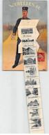 1911 Carte Postale à Système : Facteur Portant Une Sacoche Avec 10 Vues Déroulantes De LYON Très Bon état. - Dreh- Und Zugkarten