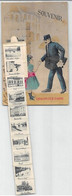 1914 Carte Postale à Système : Facteur, Sacoche, Boîte à Lettres Avec 10 Vues Déroulantes De CHALON-sur-SAONE - Dreh- Und Zugkarten