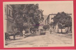20- 2B---BASTIA--Avenue Carnot---animé----cpsm Pf - Bastia