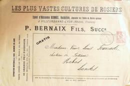 BERNAIX Ernest Rosieriste Villeurbanne 1903 - Advertising