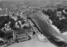 LOIRE ATLANTIQUE  44  LE POULIGUEN - LE PORT - VUE AERIENNE - CACHET - Le Pouliguen