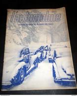 L' Automobile - Rivista Illustrata Del R.A.C.I. - Anno I - N. 1 - Gennaio 1939 - Autres