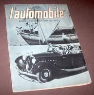 L' Automobile - Rivista Illustrata Del R.A.C.I. - Anno I - N. 7 - Luglio 1939 - Autres