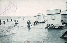 Ostende Les Bains De Mer Circulée En 1904 - Oostende