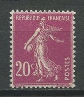 FRANCE 1924  N° 190 ** Neuf MNH  Superbe Semeuse Fond Plein - Neufs