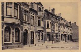 Breedene S/Mer Rue De Gand Circulée En 1933 - Bredene