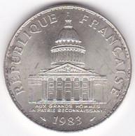 100 Francs Panthéon 1983 En Argent - N. 100 Francs