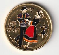 """Médaille """" Bretagne """" Ecusson Danse Triskell - Non Classés"""