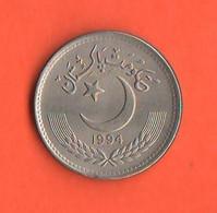 Pakistan 50 Paisa 1994 Nickel Coin - Pakistan