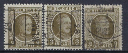HOUYOUX Nr. 191 Voorafgestempeld Nr. 4154  A + B + C AVERBODE 28 ; Staat Zie Scan ! - Roller Precancels 1920-29